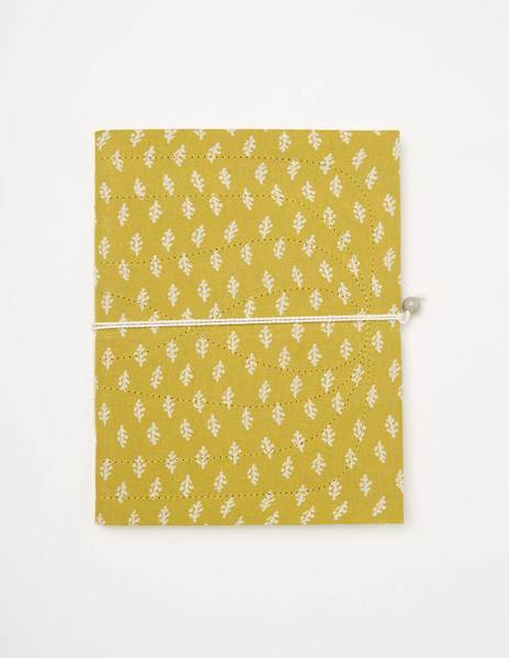 Mustard branches notebook