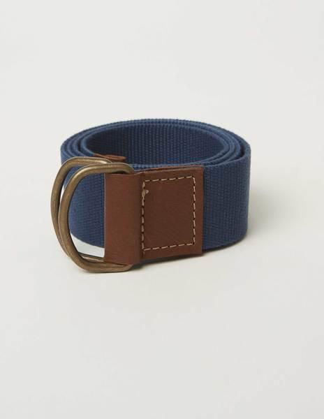 Cinturón cinta lisa azul