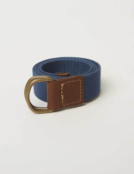 Blue smooth belt