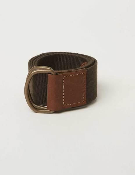 Cinturón cinta lisa marrón