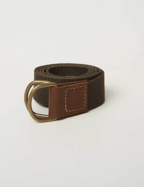 Brown smooth belt