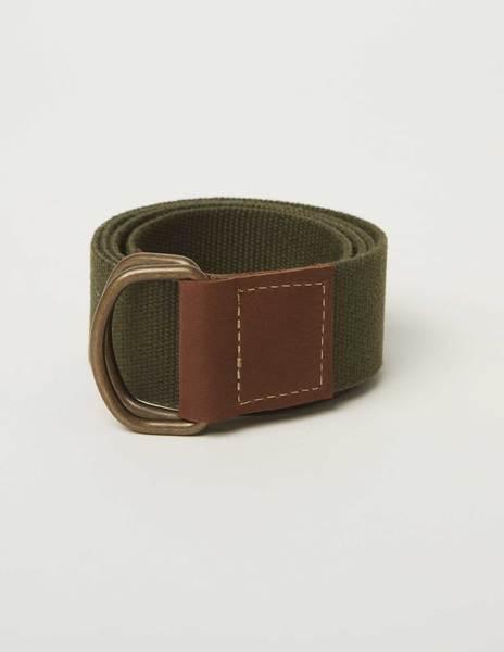 Cinturón cinta lisa verde