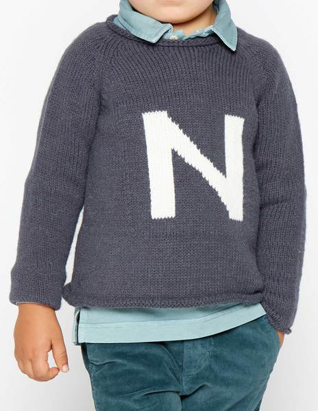 "Jersey ""N"" antracita"