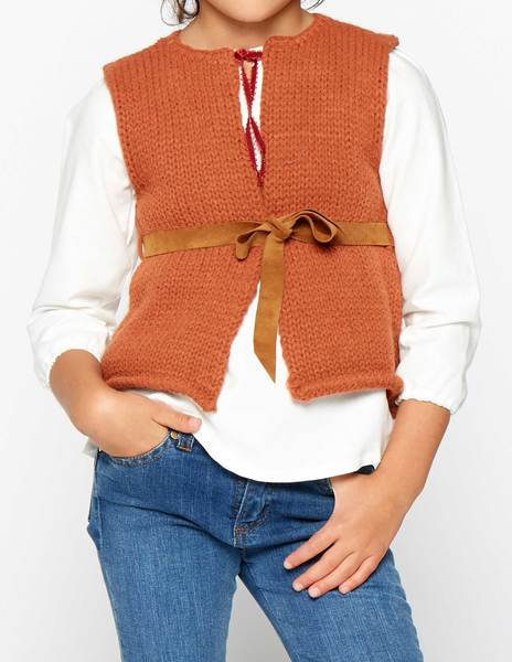 Rust waistcoat