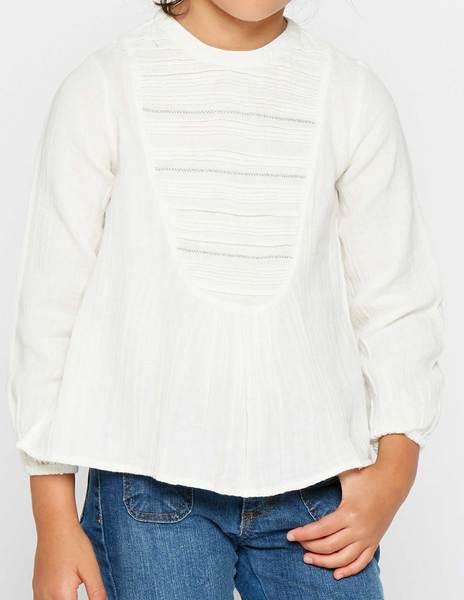 Camisa pespuntes gris