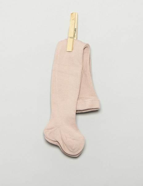 Powder pink baby leggings