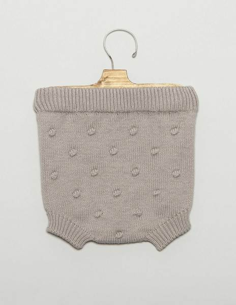 Grey baby bobble bloomers