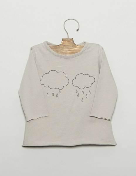 """Camiseta bebé """"NUBES"""""""