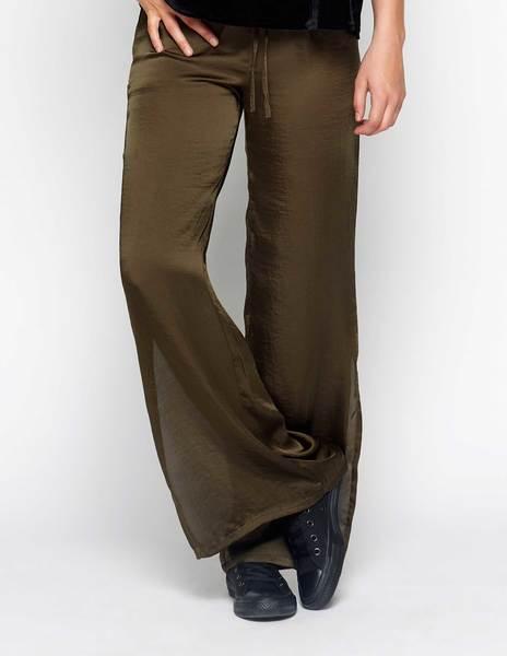 Pantalón aberturas verde