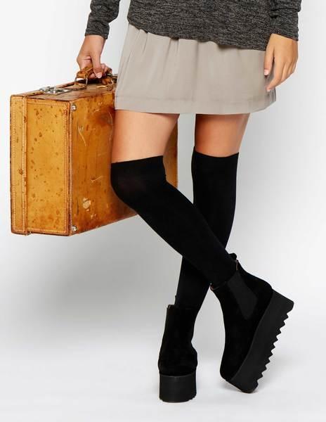 Minifalda ocre