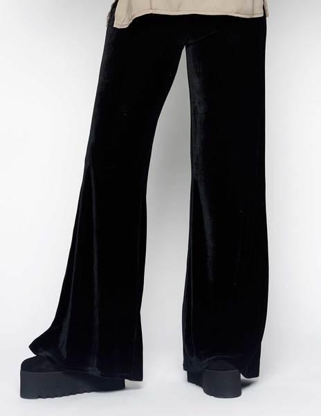 Pantalón terciopelo negro