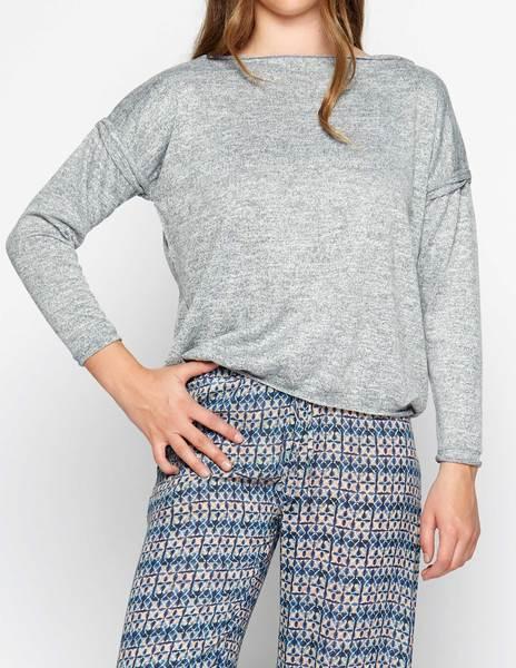 Grey flecked sweater