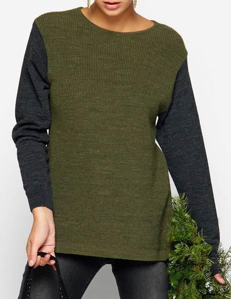 Jersey bicolor verde
