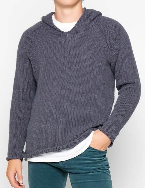 Jersey capucha antracita