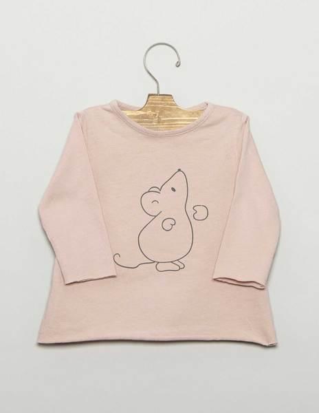 """Camiseta bebé """"RATÓN"""""""
