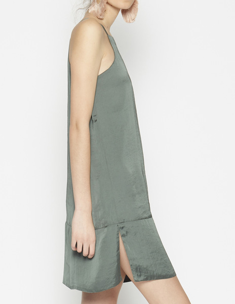 Short grey dreen halterneck dress