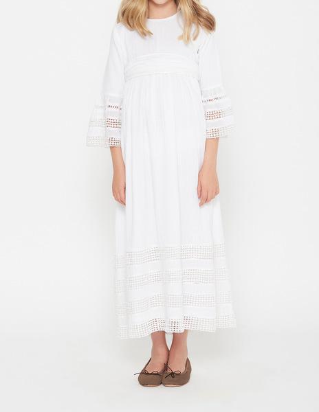 First communion lace dress