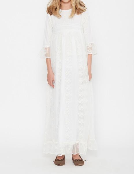 Flower girl tulle dress