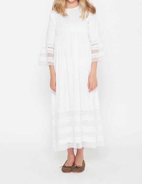 Flower girl lace dress