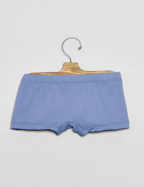 Light blue baby swimming trunks