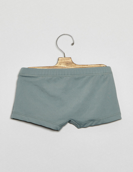 Green baby swimming trunks