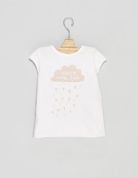Pink baby SHOWER ME top
