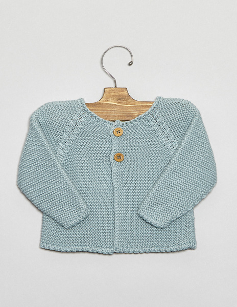 Turquoise button cardigan