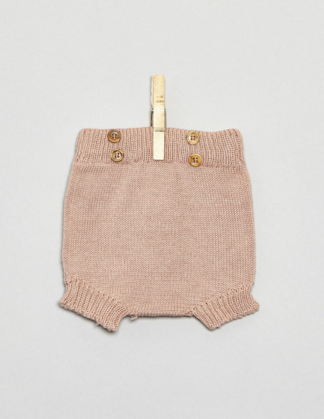 Pink button bloomers