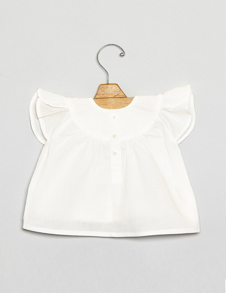 Baby wing blouse