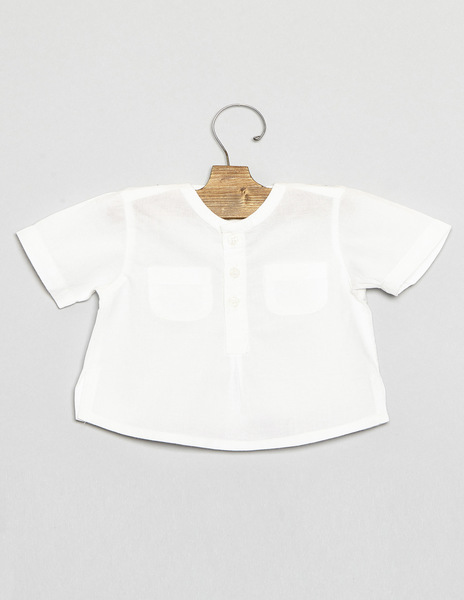 Baby blouse with pockets