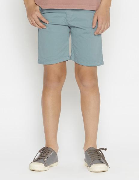 Dark green chino shorts