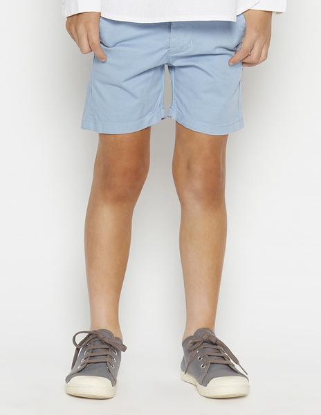 Light blue chino shorts