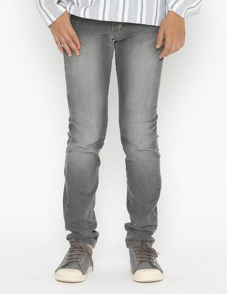 Boys' grey skinny jeans