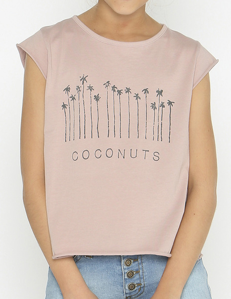 Pink COCONUT t-shirt