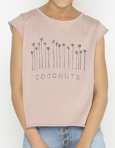 Camiseta COCONUT rosa
