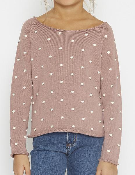 Blackbery bobble sweater