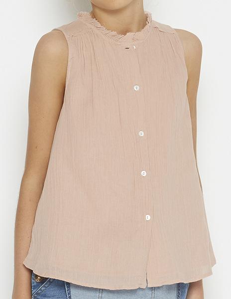 Pink seam blouse