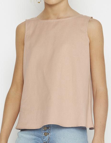 Oak crossover blouse