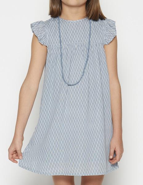 Bobble rufrle dress