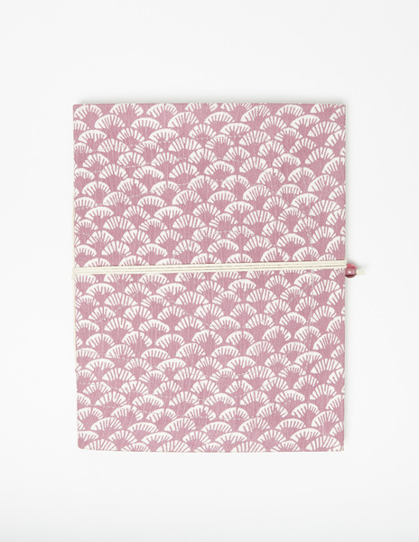 Strawberry print notebook