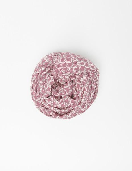 Strawberry print mini scarf