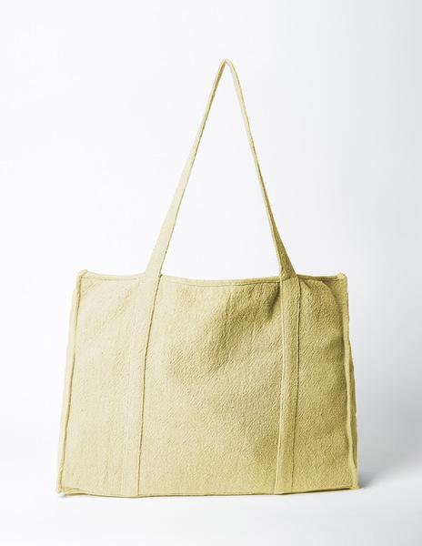Mustard beach bag