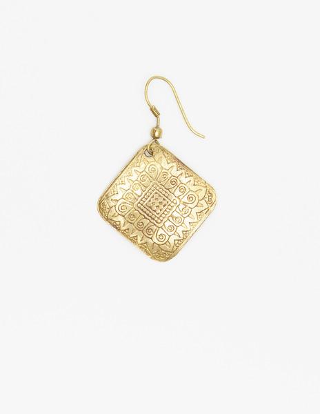 Small diamond earrings