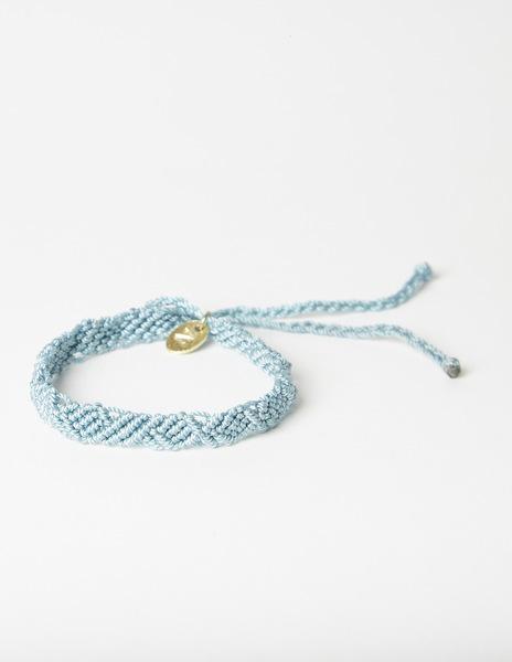Turquoise thread bracelet
