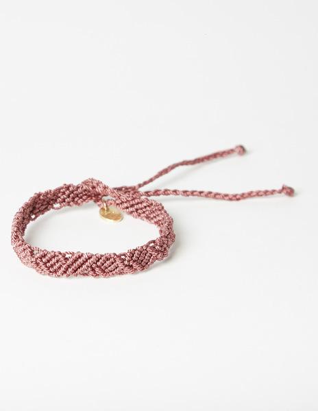 Strawberry thread bracelet
