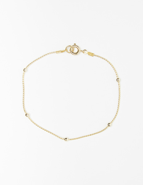 Chain bead bracelet