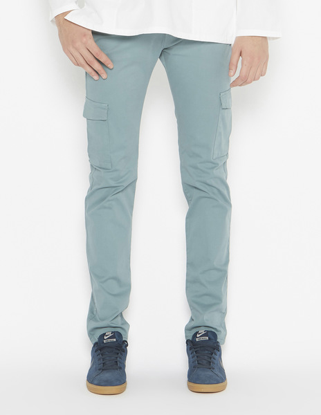 Dark green chinos with pockets