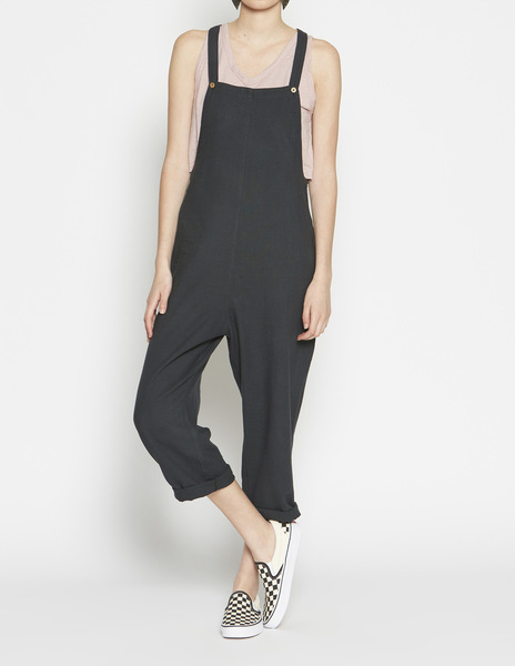Anthracite baggy jumpsuit