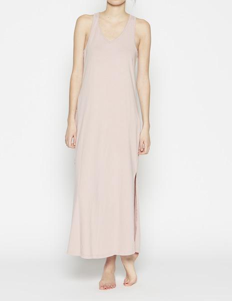 Pink beach cover-up dress