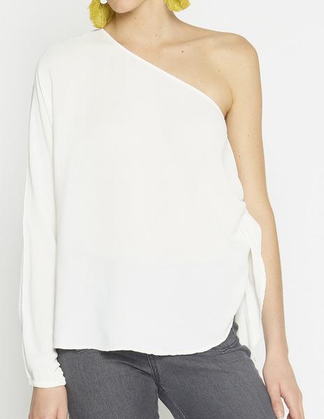 White assymetric top